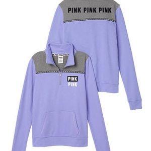 Victoria's Secret quarter zip up sweatshirt